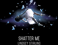 "Lindsey Stirling ""Shatter Me"" Tour Poster Entry"
