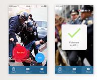ACLU App Redesign