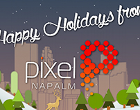 Pixel Napalm Holiday Video