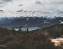 Wandering above Tegernsee