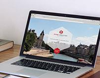 Webdesign du site d'un cabinet d'avocats