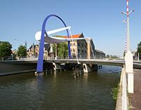 ophaalbrug PoortBrug Leeuwarden NL by Arc2