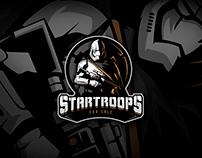 Star Trooper - Logo Design For sale