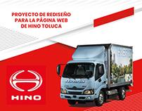 Sitio web - Hino Toluca