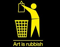 Art is rubbish charity event