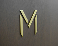 "M ""bland Logo Design"""