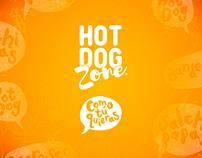 Hot Dog Zone - Diseño de imagen y marca