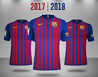 F.C. Barcelona 2017/2018 Rumores (Concept Kit)