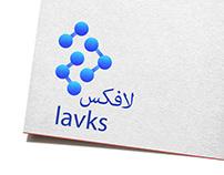 Lavks logo design