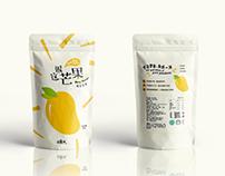 Mishipai Dried Fruits Packaging