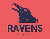 Ravens Apparel | Branding