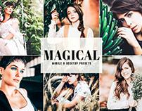 Free Magical Mobile & Desktop Lightroom Presets