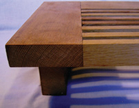 Low Table made from oak