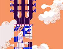 Skyscraper guitar