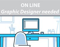 ON LINE GRAPHIC DESIGNER