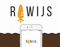 Rawijs - App design