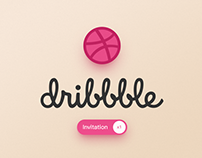 Dribbble Invitation x1