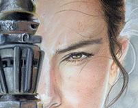 Rey - study in soft pastel (2015)