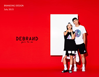 DEBRAND / SS Clothing Image Design