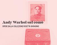 Andy Warhol sul comò