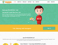 Web Design For Ngasong.com