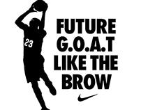 Anthony Davis Spoof Nike T-Shirt Design