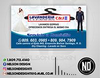 Lavanderia C&J Cleaners 2 - Tarjeta de Presentación