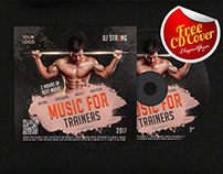 Sport Music – Free CD Cover PSD Template
