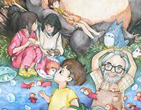Fanart-To Miyazaki Hayao
