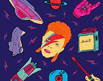 David Bowie Pattern