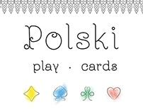 Polski play cards