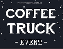 Coffee Truck Event Logo