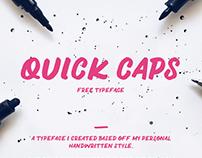 QUICK CAPS - Free Font