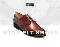 Wide Fit Shoes Concept