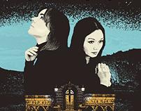 Bic Runga & Tiny Ruins (tour poster)