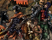 Bloodlust: Crywen stories comic covers