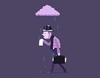 Feeling Under the Weather - Animated Gif
