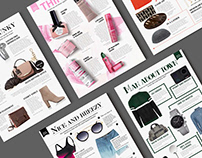 Retail Magazine Layout