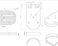 Diseño de piezas y repuestos para máquinas
