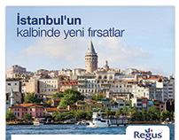 Regus Poster Design