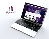 PlayBac Project | Branding, Web Design & Motion