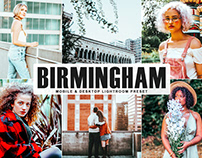 Free Birmingham Mobile & Desktop Lightroom Preset