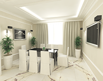 Kitchen design in the style of Art Deco