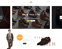 Emercato Shoes - Sectioned Shopify Theme