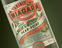 Spirit in Niagara Brand & Label Design