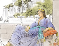 Curious Greek. Illustrations.