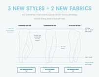 Our New Fit Product Page