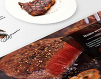 Restaurant web-design