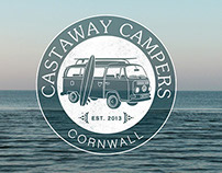Castaway Campers  // Logo