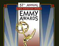 LA Area Emmy Awards Program 2005 - Graphic Design
